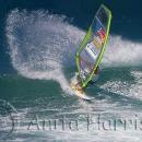 Windsurfer, top turn at Hookipa - img_3284_1.jpg