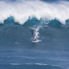 Windsurfers at Jaws  2010